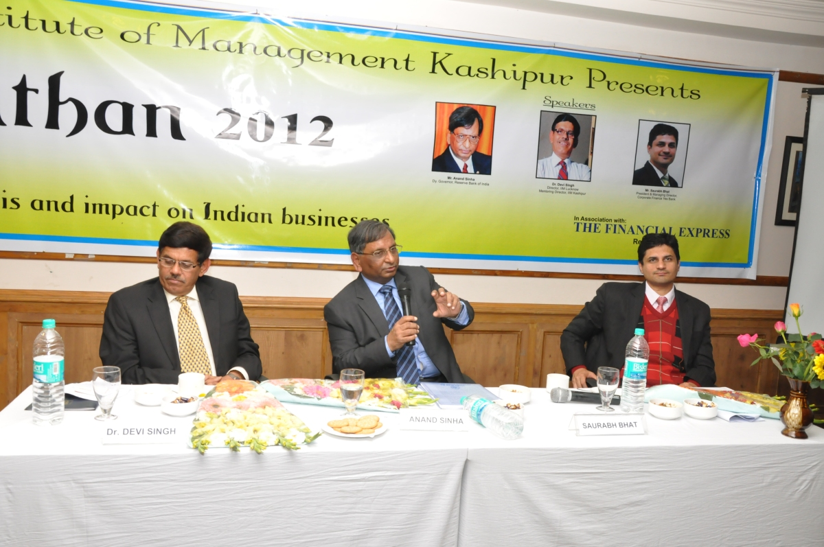 Manthan – Finance Summit Manthan –2012