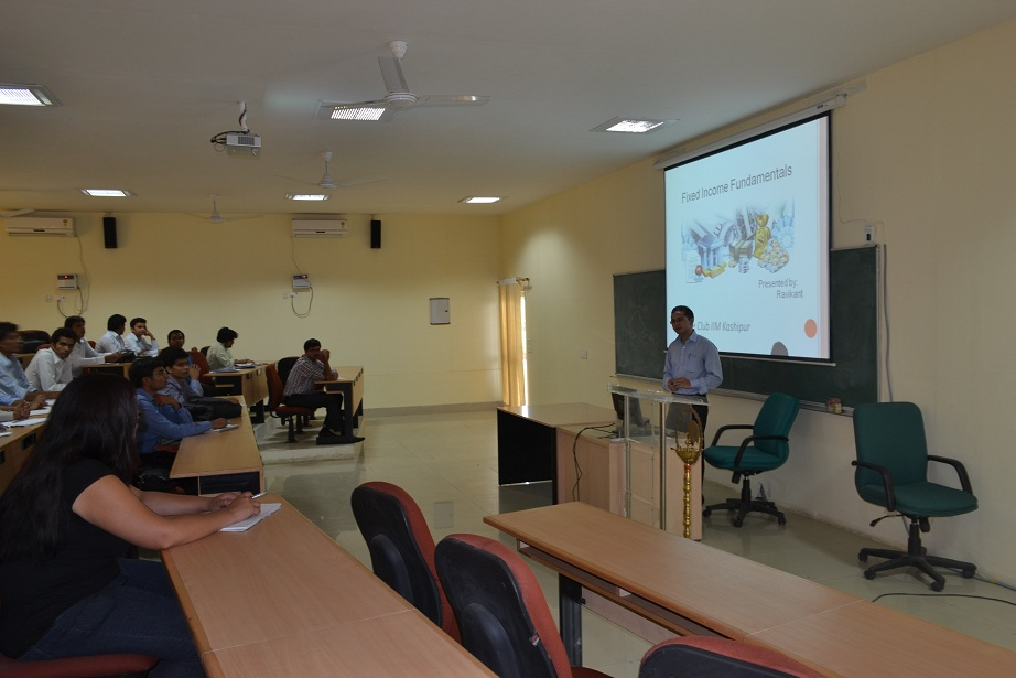 Finance Club kick-starts its Activities in its SecondYear