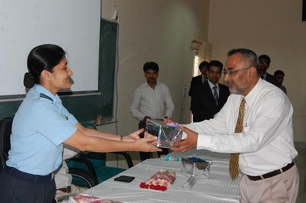 Workshop on 'Ethics' by IAF, Wg. Cdr. AnupamaMonga
