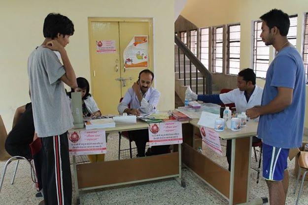 Blood Donation Camp @ IIMKashipur