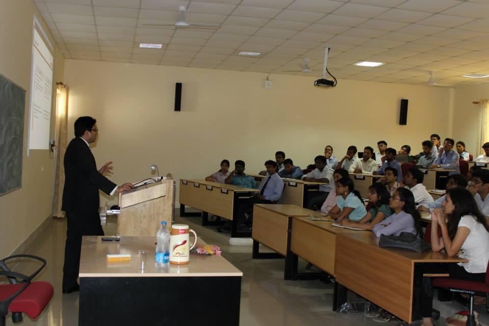 Mr. Nikhil Mehta, Executive Director, Corporate Strategy atNomura