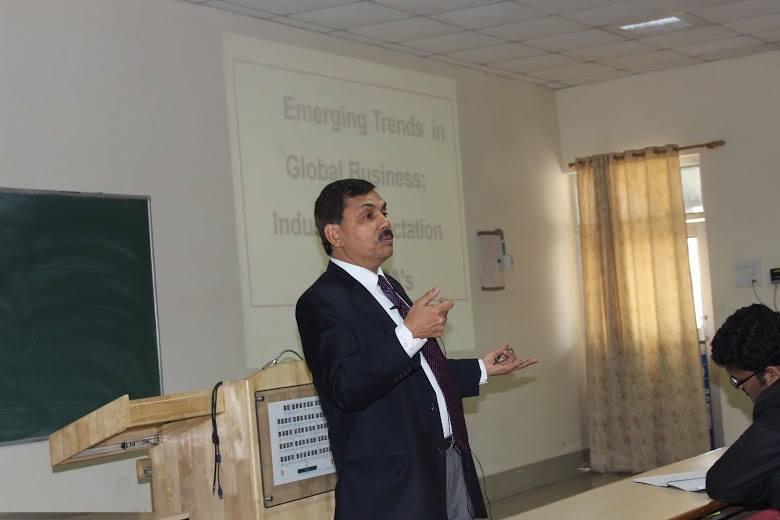 Guest Lecture: Mr. Kamal Singh, National HRD Network @ IIMKashipur