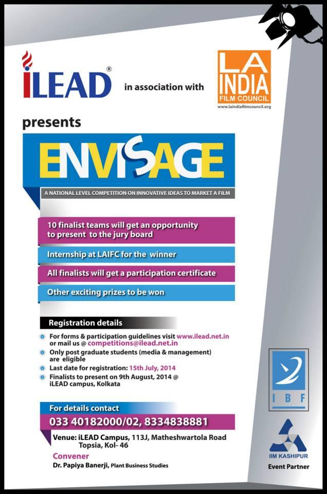 Envisage – Organizer – iLEAD; Event Partner – IIMKashipur