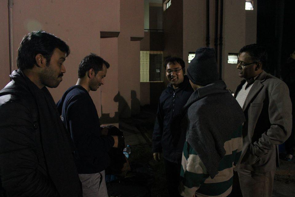 Night Futsal with ourprofessors