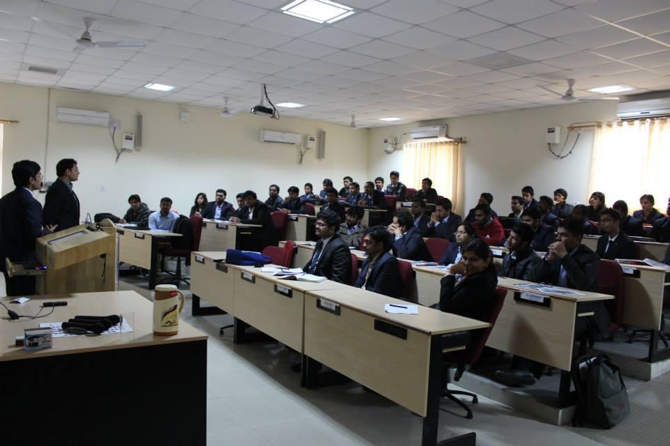Guest Lecture: Mr. Shubham Narayan, GoldmanSachs