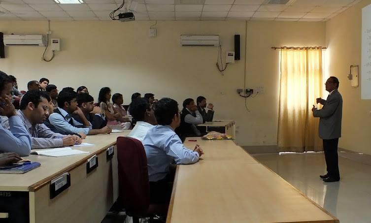 Guest Lecture: Mr. Nagaraju KB, COO at TVS Logistics ServicesLimited