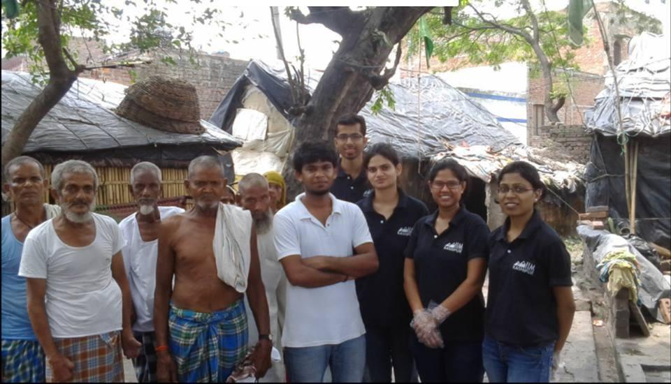 Clothes donation drive by Parivartanteam
