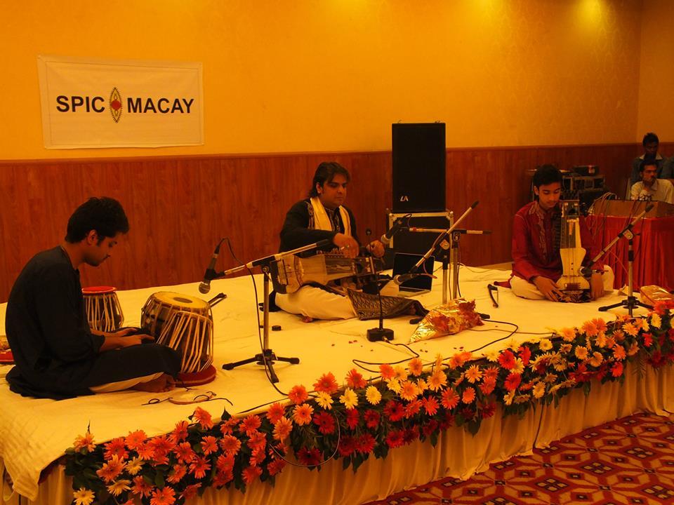 Sarangi maestro Ustad Kamal Sabari at SPIC MACAY, IIM Kashipurchapter
