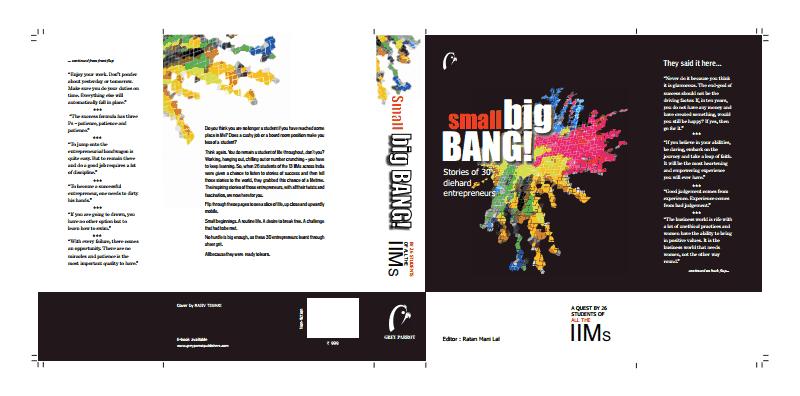 Small Big Bang: A book by AshwinMurali