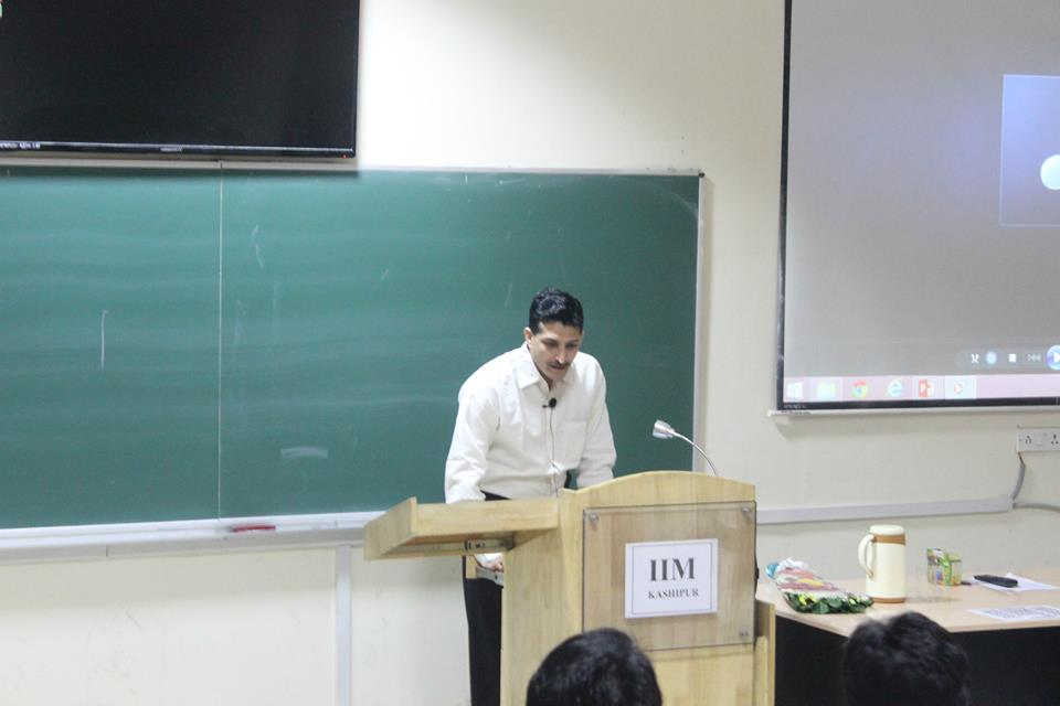 Guest Lecture by Mr. DevendraRaghav
