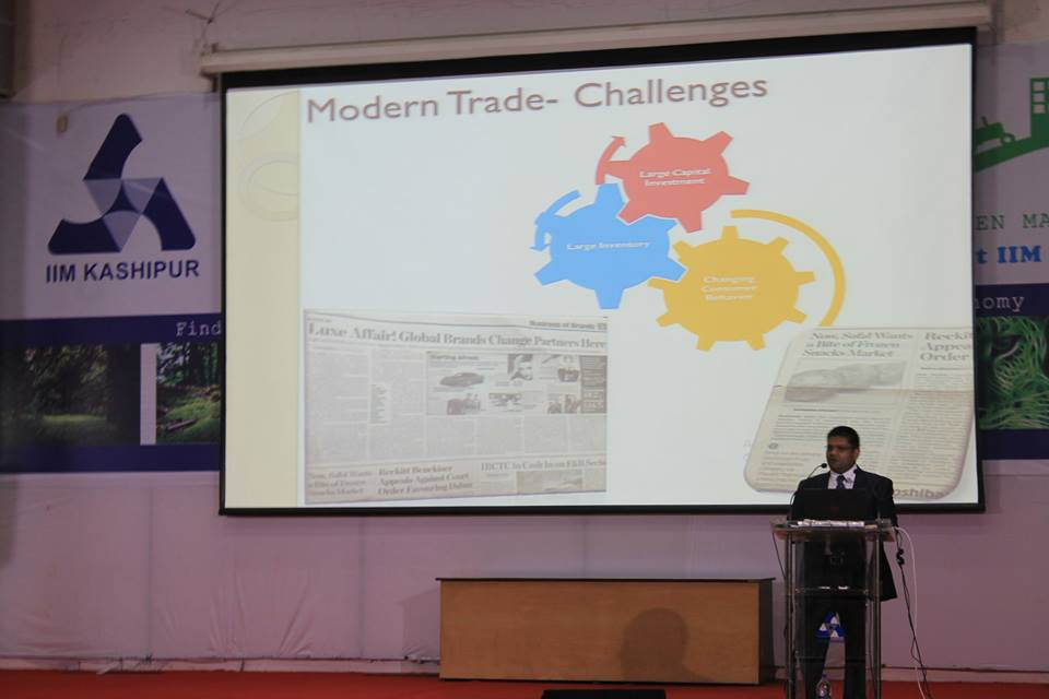 Guest lecture by Mr. GauravSaxena