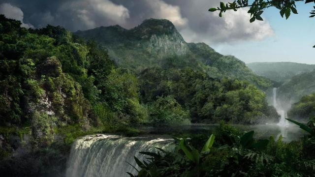 jungle-1920x1080-search-waterfall-animated-1920x1080-wallpaper20289