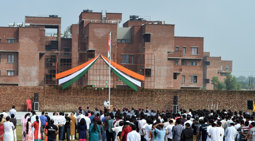 Pic.1 Independence Day Celebration at IIM Kashipur.JPG