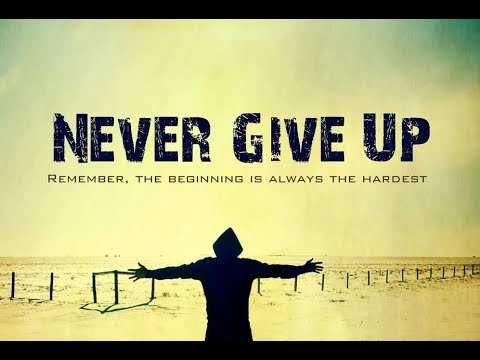 Never Give Up: From an Average Guy to anInventor!