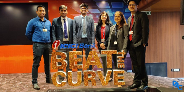 Journey of winning 'ICICI Bank Beat the Curve 2019' – A step towards being 4th in D2C Competitive B schools2021